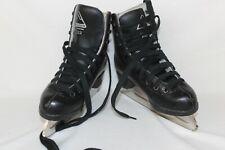 New listing Glacier By Jackson 222 Figure Ice Skates Black Youth Size 11