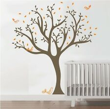 Wall Stickers xlarge tree bird baby kids Removable Vinyl Decal Art Mural Decor