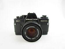 Praktica BC1 1 electronic SLR + Pentacon Prakticar 1:1.8 f=50mm MC defekt spares