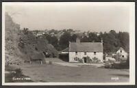 Postcard Shrewton near Amesbury Salisbury Plain Wiltshire village RP