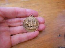 Spain SEBASTIAN ELCANO Ship Navigator medal ANTIQUE VESSEL medal