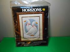 Monarch Horizons Stitch Kit CR 75 Take A Gander 1984 Candlewicking FREE SHIP