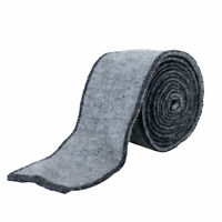 Hugo Boss Men's Gray Wool Cashmere Square End Tie