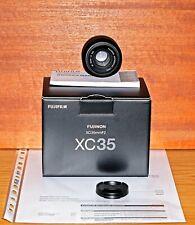 Fujifilm FUJINON XC 35mm, f2, NERO, NUOVO