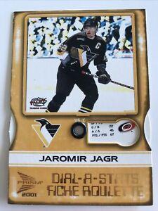 NHL Card,Jaromir Jagr,Dial-A-Stats,Pacific McDonalds Prism 2001