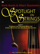 """Spotlight On Strings"" Music Book-Level 1-Violin-Brand New On Sale-Gazada-Kjos"