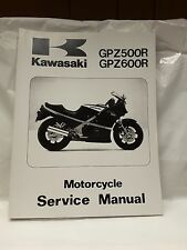 New NOS OEM Kawasaki Service Shop Manual ZX500 ZX600 GPz  1985-89 99924-1055-04