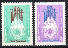 Syria - 1973 10 years Food Programme - Mi. 1224-25 MNH