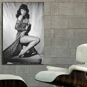 EB040 Bettie Page Pin Up Models Erotic Classic Hollywood