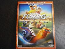 TURBO in 3D FILM IN BLU-RAY 3D NUOVO DA NEGOZIO-SPEDIZIONE € 4,90 FINO A 20 FILM