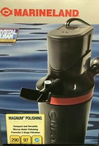 MarineLand Magnum Polishing Internal Canister Filter 290 gallons per hour New