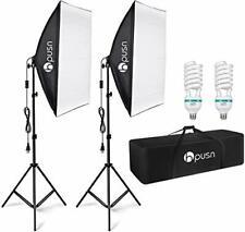 HPUSN Softbox Lighting Kit Professional Studio Photography Equipment