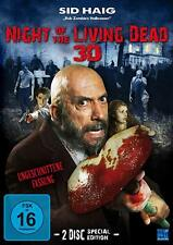 Night of the Living Dead in 3D ( Horrorfilm UNCUT 2 DVDs ) mit Sid Haig NEU OVP