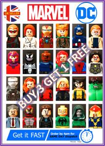 DC & MARVEL CUSTOM LEGO minifigures Star Wars Harry Potter MINI FIGURES Avengers