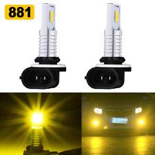 881 886 889 894 898 LED Fog Light Bulbs Kit High Bright 35W 4000LM 3000K Yellow