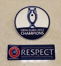 Set 2012 2016 UEFA EURO Champions Patch Badge Distintivo Parche For Spain España