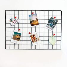 Grid Photo Wall,Multi Function Wall Mounted Ins Mesh Display Panel