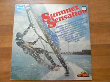 LP RECORD VINYL PIN-UP GIRL SURF SUMMER SENSATION ,SEXY NUDE COVER CHEESECAKE LP