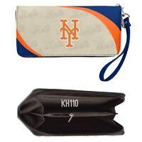 MLB New York Mets Curve Zip Organizer Women's Wallet