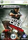 Splinter Cell: Conviction - Xbox 360 - GOOD CONDITION - CIB - FAST FREE SHIPPING