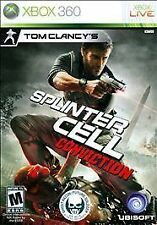 Tom Clancy's Splinter Cell: Conviction (Microsoft Xbox 360, Complete)