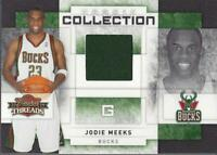 2009-10 Panini Threads Rookie Collection Materials #32 Jodie Meeks Jersey /250