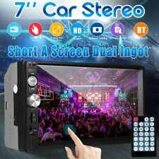 7Inch Double 7023B 2 DIN Car FM Stereo Radio MP5 Player TouchScreen Blue-tooth