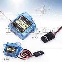 Mini Micro Servo 3.7g / 4.3g for Aeromodelling flight Aircraft direction control
