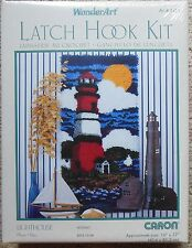 "Caron Wonderart Latch Hook Kit Lighthouse 16"" x 32"" On Sale"