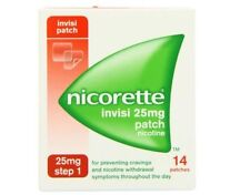 NICORETTE 25mg transdermal 28 Patches Nicotine Replacement  Stop Smoking Aid....