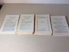 Large lot (42)  Nebraska & Midwest Genealogical Record Booklets 1931 to 1944