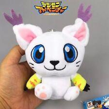 "Digimon Gatomon Tailmon Plush Stuffed Animal Toy 4"" US Seller"