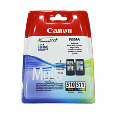 PG510 CL511 Black & Colour Genuine Ink Cartridge For Canon MP272 MP280 MP282