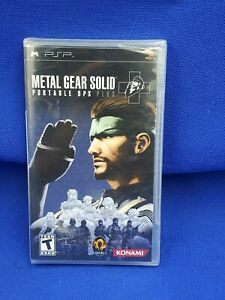 Sealed  Factory Sealed Metal Gear Solid: Portable Ops Plus (Sony PSP, 2007)