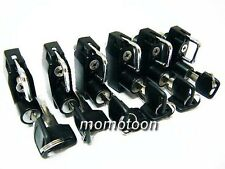 Motorcycle Biker Universal Hanger DIY Repair Helmet Lock Lots Of x6 B