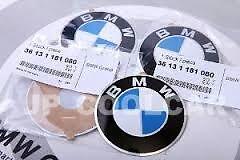 Alloy Wheel Centre Cap Badge w/- BMW Sticker x 4 Genuine BMW 36131181080 64.5mm