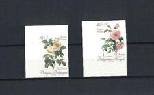"""2353/54 Ong/ND """"Fleurs - Roses Redouté"""" - COB 30 € !"""