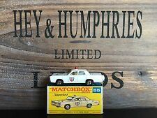 Matchbox Superfast no.55A-2.Rare Version near mint Rare Box v.good cond.from1969