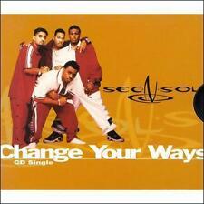 Sec-N-Sol Change Your Ways 2 Tracks 1998