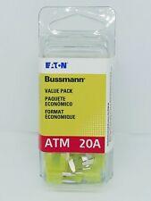 Bussmann Atm 20A Blade Fuses (pack of 25) Vp/Atm-20-Rp