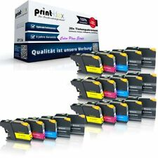 20x Recycelte kompatible Tintenpatronen für Brother MFCJ 4420 DW alle Farben Col