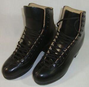 New SP-Teri Co Professional Figure Ice Skates Boots 5.5 Men's Black