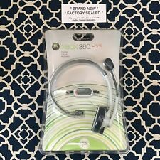 XBox 360 Live Headset by Microsoft *BRAND NEW SEALED*