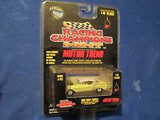 "1958 58  impala chevy  Racing Champions  1:64 Scale 3.25"" yellow"