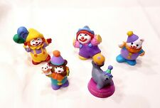 Set of 5 Hallmark Merry Miniature Happy Birthday Clowns & Seal