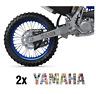 2x YAMAHA Swing arm Decals Graphics Sticker Bomb WR250F WR450F WRF YZF 250 450