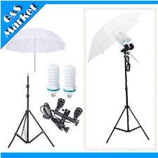 """Lighting Kit Light Stand + 220v Bulb + 33"""" Umbrella + Dual Swivel Lamp Holder"""