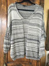 Rxb Black/white Sweater Size Medium