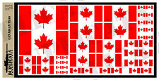 Diorama/Model Accessory - Canadian Flag - 1/72, 1/48, 1/32, 1/35 Scales