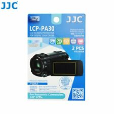 "JJC LCP-PA30 Film Screen Display Protector for Panasonic 3.0"" LCD Camcorders x2"